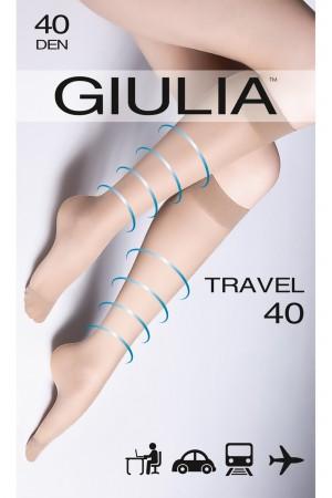 Giulia Travel 40 den kevyesti tukevat polvisukat, paketti