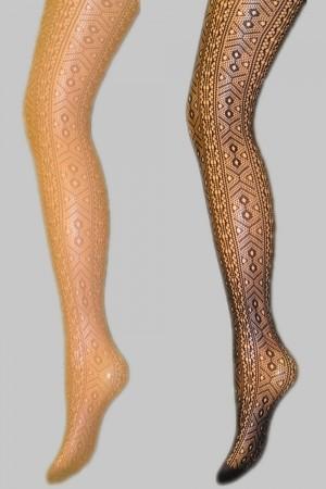 Veneziana Toronto kuvioidut sukkahousut, värit