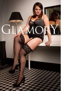Glamory Luxury 20 den sukkanauhasukat