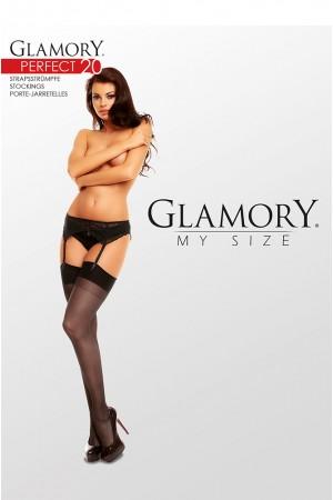 Glamory Perfect 20 den sukkanauhasukat, paketti